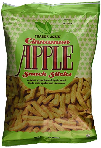 Trader Joe's 2 Cinnamon Apple Snack Sticks...6 Oz. Bag Each Total 12 Oz.