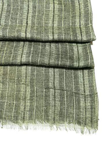 Shanlin Unisex Cotton Linen Scarves for Men and Women