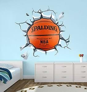 basketballdecal para housewares