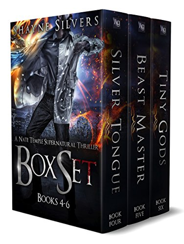 The Nate Temple Supernatural Thriller Series: Books 4 - 6 (The Nate Temple Supernatural Thriller Series Boxset Book 2) (Temple Boxes)