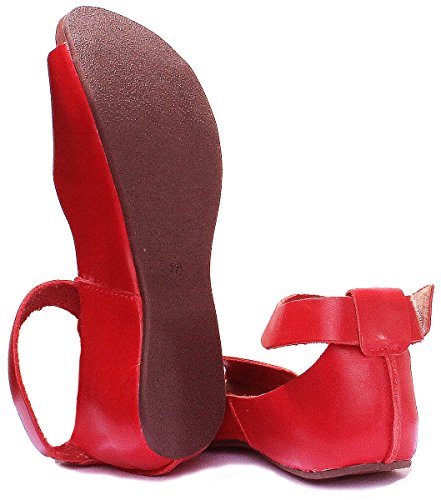 7020 Reece femme Sandales red pour Justin OqwCg5x58
