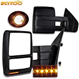 Towing Mirrors for F150 Exterior Accessories Mirrors for 2004-2014 Ford F150 Truck with Power Cotrol Heated Turn Signal and Puddle Light Features