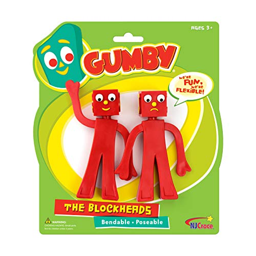Gumby Characters - NJ Croce Gumby Blockheads G &