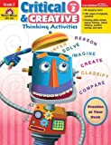 Critical and Creative Thinking Activities, Grade 2, Evan-Moor, 1596732938
