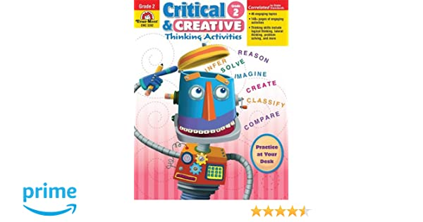 Critical and Creative Thinking Activities, Grade 2 (Critical ...