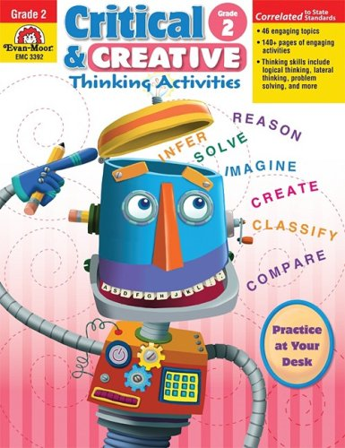 Critical and Creative Thinking Activities, Grade 2 (Critical & Creative Thinking)