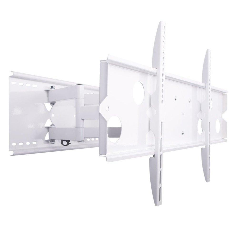 NEG Profi Universal TV-Wandhalterung ExTender 5015 (weiß) schwenk-, neig- und ausziehbar, Full Motion (bis max. VESA 600x400 und 80kg)