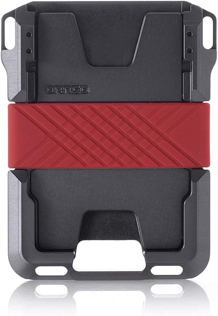 Dango M1 Maverick Wallet Made in USA RFID Blocking CNC-Machined Aluminum