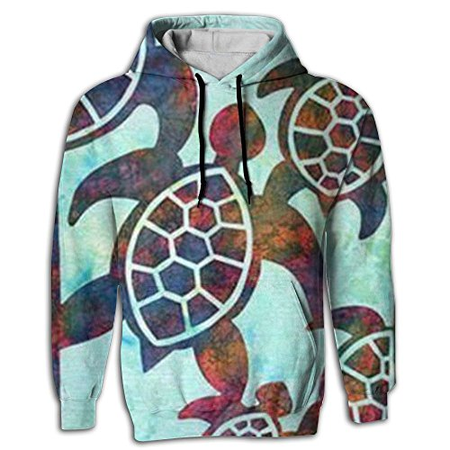 BINGGOO Free Sea Turtles Novelty Hoodie Fashion Pocket In Front Sportswear