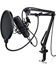 LIAM & DAAN kondensatormikrofon, svart, en storlek