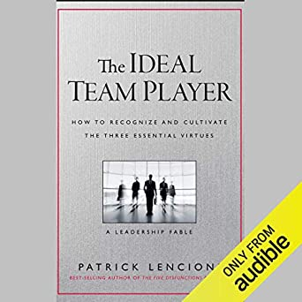 Amazon com: The Ideal Team Player: How to Recognize and