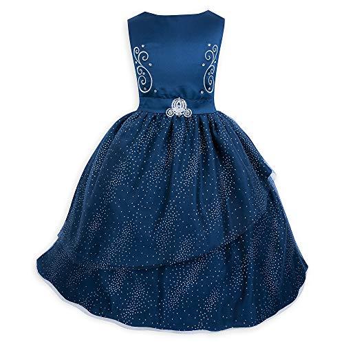 Disney Cinderella Fancy Dress for Girls Size 4 Blue ()