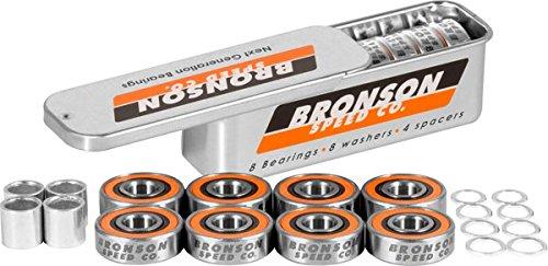 Bronson G3 Bearings Single Set W/Spacers+Washers