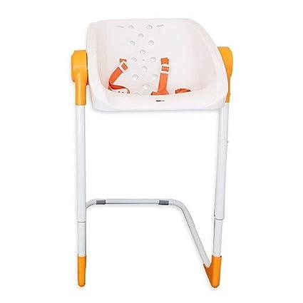 Kiokids Charlichair - Silla de baño, unisex, color naranja
