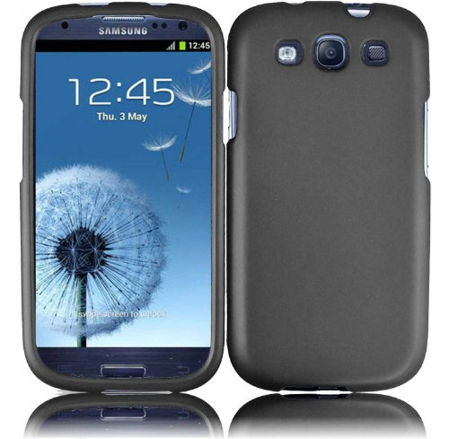 Gray-Rubberized-Protector-Case-for-SAMSUNG-GALAXY-S3-S-III-i747-ATT-i535-Verizon-T999-T-mobile-L710-Sprint-i9300