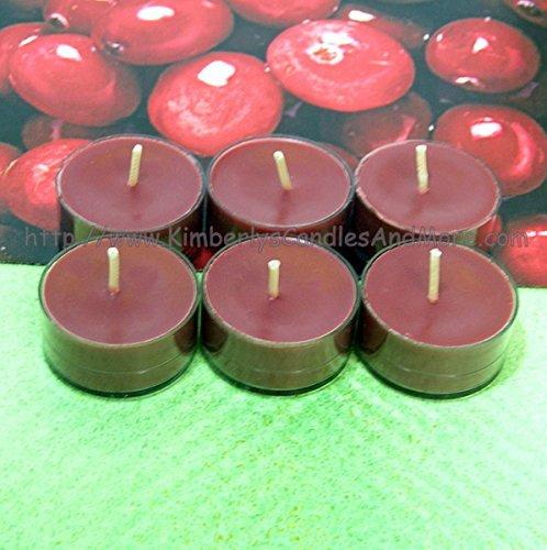 Cranberry PURE SOY Tea Light - Candles Cranberry Tealight