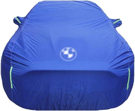 Car Cover for BMW X1 X2 X3 X4 X5 X5M X6 X6M All Weather Breathable Outdoor Indoor Waterproof Windproof Dustproof Scratch Resistant UV Protection Universal Car Cover