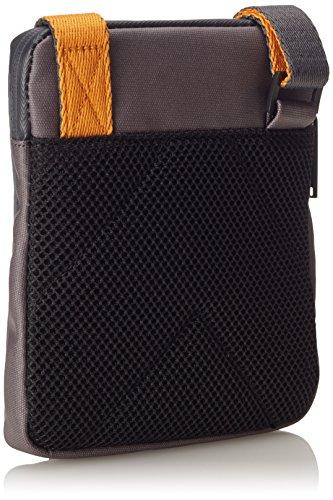 Calvin Klein Logan Mini Flat Crossover, Bolso para Hombre CASTLEROCK