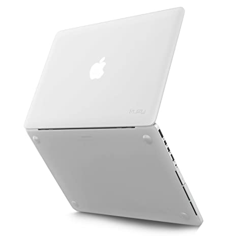 buy popular 43989 4a765 Kuzy Rubberized Hard Case for Apple MacBook Pro 13.3-inch with Retina  Display (Clear)