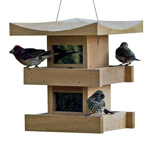 Bird Feeder 2-Level, Cedar ()