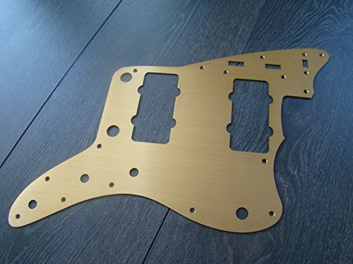 Jazzmaster USA 62 reissue guitar pickguard gold anodized fit