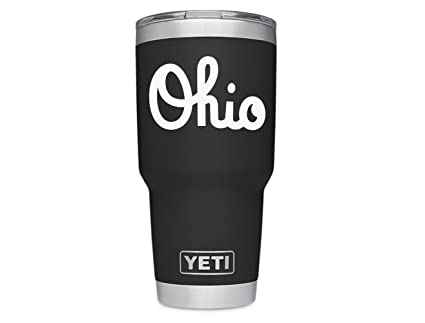 3d6e9c04609 Amazon.com: ViaVinyl Ohio State OSU Marching Band Script Ohio Decal ...