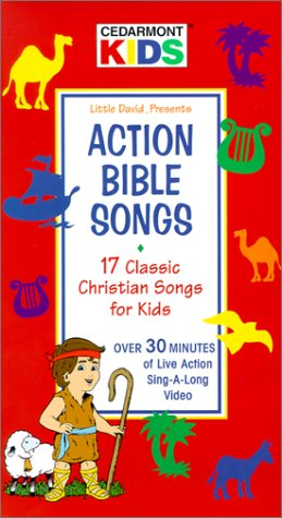 Cedarmont Kids: Action Bible Songs - 17 Classic Christian Songs for Kids (Over 30 Minutes of Live Action Sing-A-Long Video)