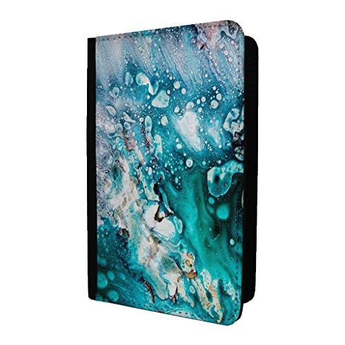 Precious Steinen Blau Kristall Passport Halter Tasche Case Cover–S1351 ygGMWNQ9