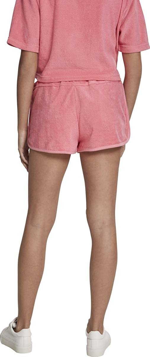 Urban Classics Ladies Towel Hot Pants Pantaloni Donna