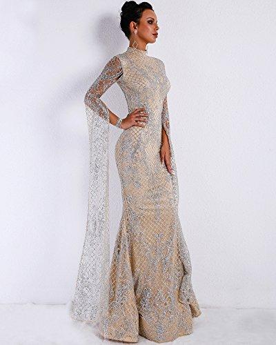 Damen Missord Missord Silber Cocktail Cocktail Kleid Kleid Silber Damen Missord Damen wfqBpnR