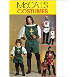 McCall's Patterns M5500 Men's/Children's/ Boys' Knight, Prince and Samurai Costumes, Size MEN (SML-MED-LRG-XLG)