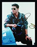 Framed Tom Cruise Top Gun 11x14 Authentic Autograph with Ceritficate of Authenticity