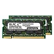 4GB 2X2GB RAM Memory for Samsung Notebook Q210 BA01 Black Diamond Memory Module DDR2 SO-