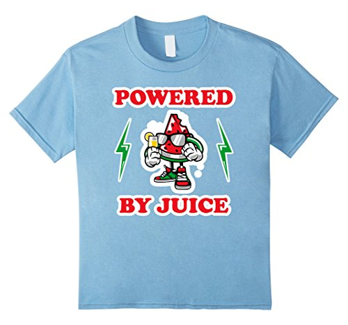 Kids Powered By Juice Juicing T-Shirt Juicer