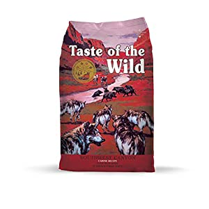 Taste of the Wild Grain Free High Protein Real Meat Recipe Southwest Canyon Premium Dry Dog Food 98