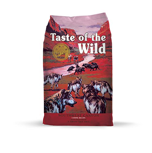 Taste of the Wild Southwest Canyon Grain-Free Dry Dog Food with Wild Boar 5lb