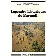 Legendes Historiques du Burundi