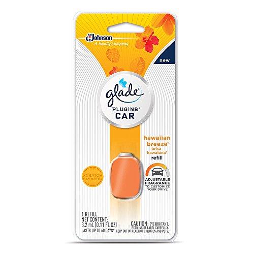Price comparison product image Glade PlugIns Car Air Freshener Refill,  Hawaiian Breeze,  0.11 fl oz