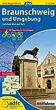 ADFC-Regionalkarte Braunschweig und Umgebung mit Tagestouren-Vorschlägen, 1:75.000, reiß- und wetterfest, GPS-Tracks Download: Zwischen Aller und Harz (ADFC-Regionalkarte 1:75000)