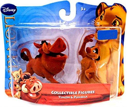 Disney Lion King - König der Löwen Spiel- und Sammelfiguren Timon und Pumbaa