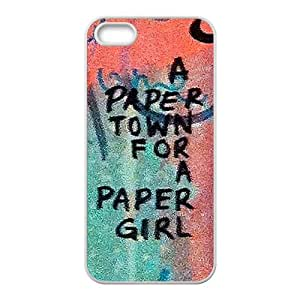 a paere town for a paper girl Phone Case for Iphone 5s