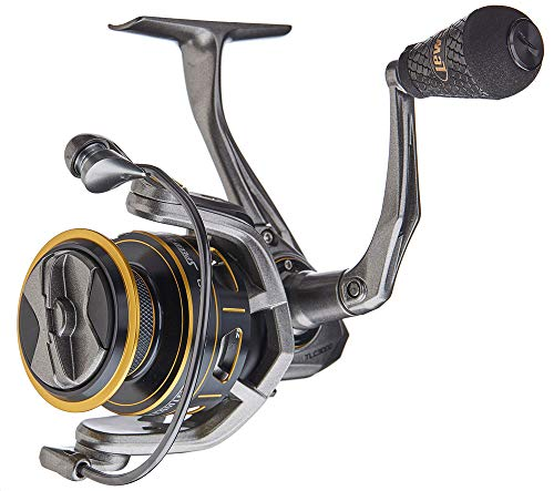Lews Fishing, Custom Pro Speed Spin Spinning Reels, 6.2:1 Gear Ratio, 12 Bearings, 22 lb Max Drag, Ambidextrous