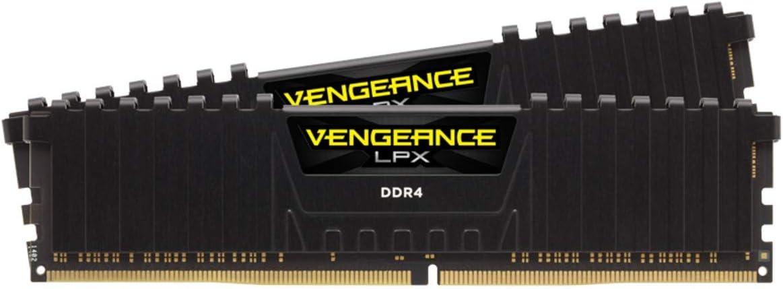 Corsair Vengeance LPX - Memoria de escritorio (16 GB, 2 x 8 GB) DDR4 3600 (PC4-28800) C18 (1,35 V), color negro
