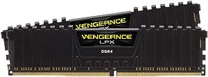 Corsair Vengeance LPX 32GB (2x16GB) DDR4 3200 C16 1.35V Desktop memory - PC memory CMK32GX4M2D3200C16 Black