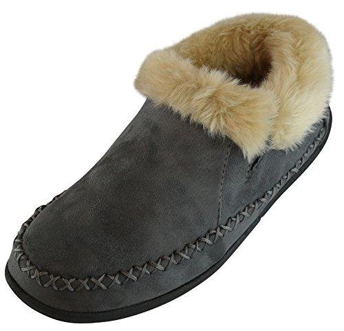 - Tamarac by Slippers International Women's Shelby Slipper Bootie (9 B(M) US, Charcoal Grey)