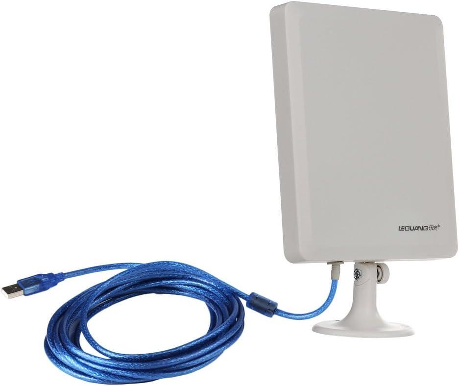 VicTsing Interior al Aire Libre USB WiFi Antena Amplificador de Larga Distancia inalámbrico hasta 1/2 Mile de Distancia Hot Spots