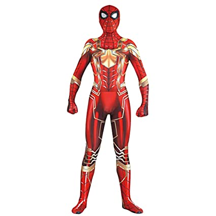 Amazon.com: Spiderman Fancy Dress Costume Role Play Cosplay ...