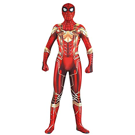 Amazon.com: Spiderman Fancy Dress Costume Role Play Cosplay ...