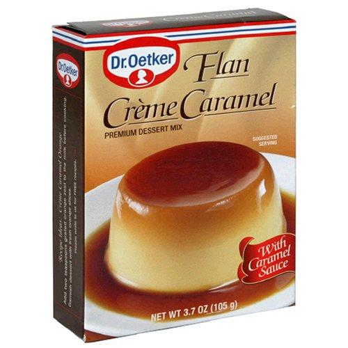 Dr. Oetker Flan Creme Caramel, 3.7-Ounce Boxes (Pack of 12) by Dr. Oetker