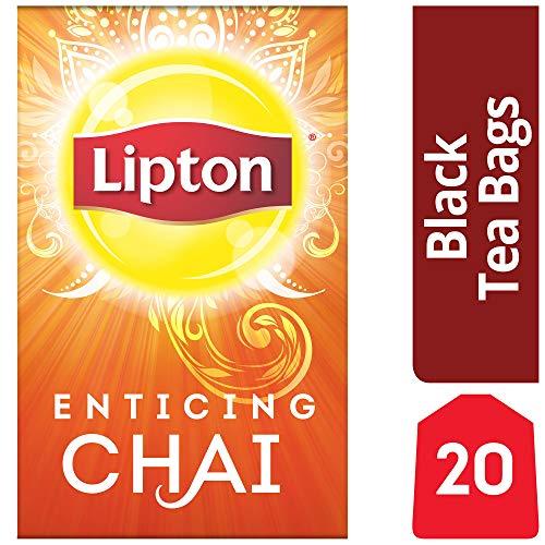 Lipton Black Tea Bags, Enticing Chai 20 ct